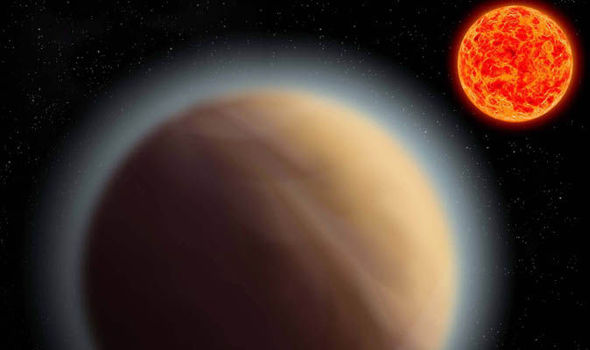 earth size planet found water world hazy atmosphere