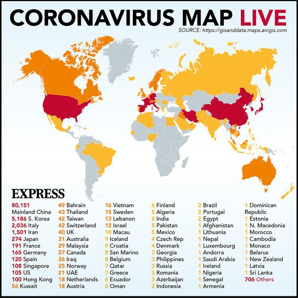 Coronavirus UK symptoms: How is COVID-19 transmitted? 51 ...