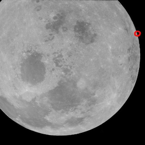 Há algo estranho nesta foto, mas a NASA não foi capaz de explicar.