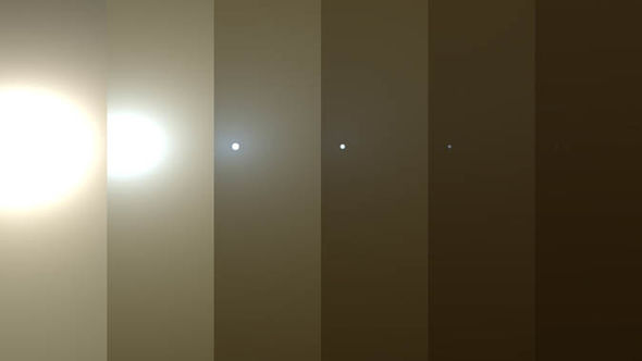 NASA pictures: Mars dust storm photo