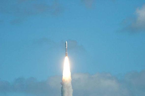NASA's New Horizons shooting into space