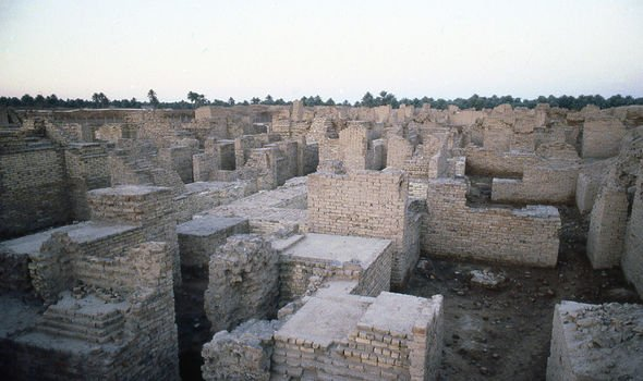 Babylon: The ancient settlement is located in modern-day Iraq