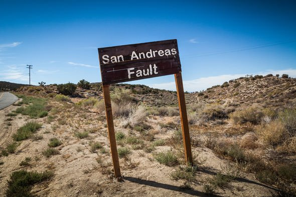 Ring of Fire: San Andreas Fault line