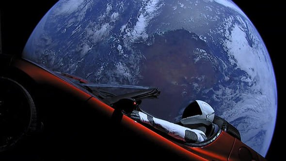 SpaceX launch news: Tesla Roadster in space