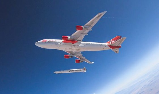 The upgraded Boeing 747 uses air launch technology