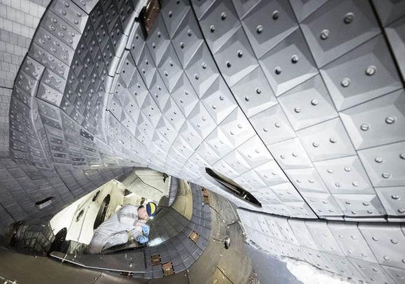 Wendelstein 7-x fusion reactor