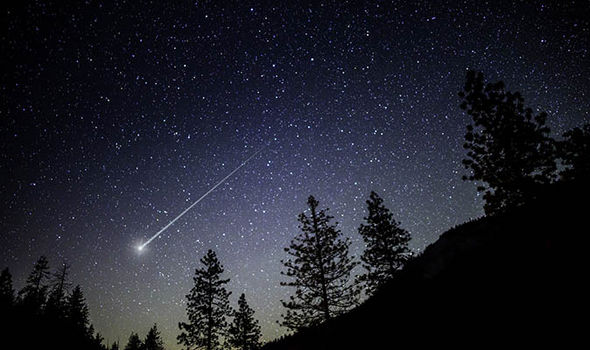 When is the Draconid meteor shower 2017 What time can you see it  Science  News  Expresscouk