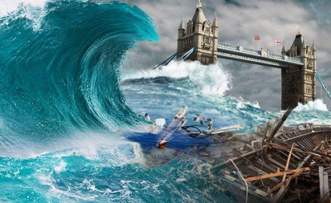 Tsunami Warning Ocean Slime Can Cause 65ft Mega Tsunamis