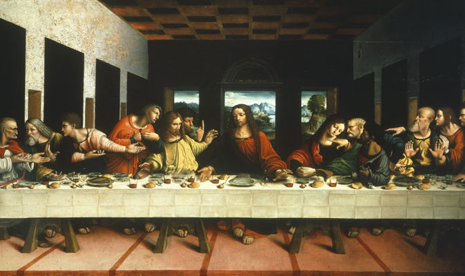 Jesus Last Supper Hd Wallpaper Famous Last Supper Painting Proves Jesus Was Not Immortal