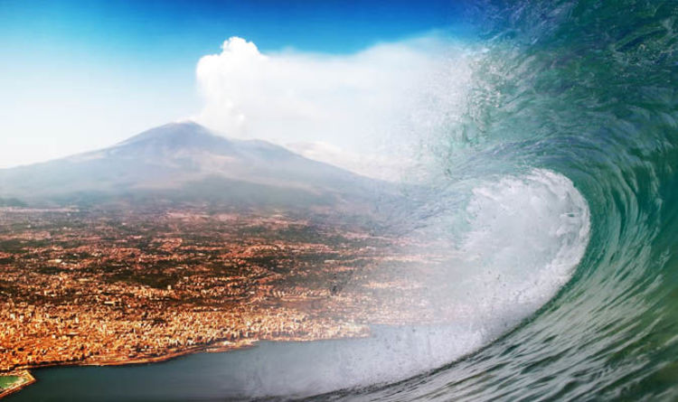 Mount Etna WARNING Italy coast at risk of TSUNAMI if volcano slides to sea  Science  News