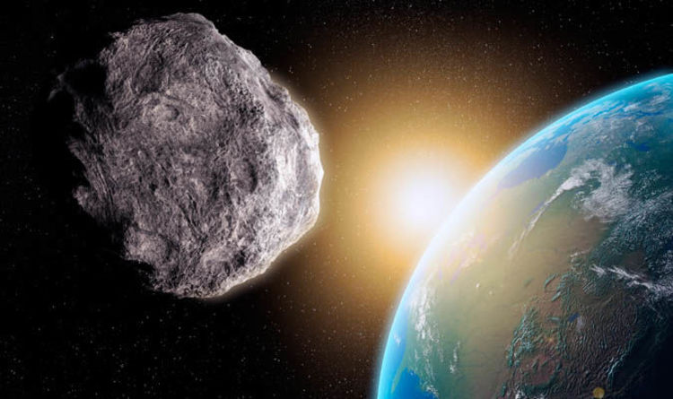NASA asteroid WARNING Space rock headed for Earth Approach TODAY  Science  News  Expresscouk