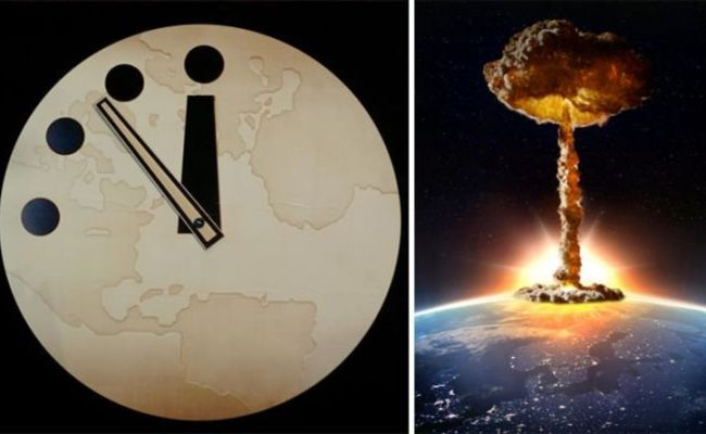 Doomsday Clock 2019 The End Of The World Remains Within