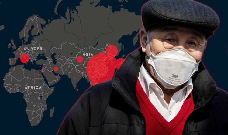 Coronavirus UK tracker: Track LIVE spread of COVID-19 as Italy and ...