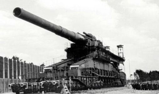Schwerer Gustav, Top Ten Biggest Guns Ever Made In History