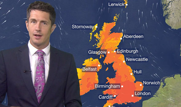 Bbc Weather Forecast Scorching Heat Could Bring Test Day Of The Year This Weekend