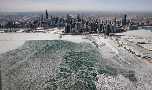 Chicago Weather In Pictures Images Of Chiberia In Icy