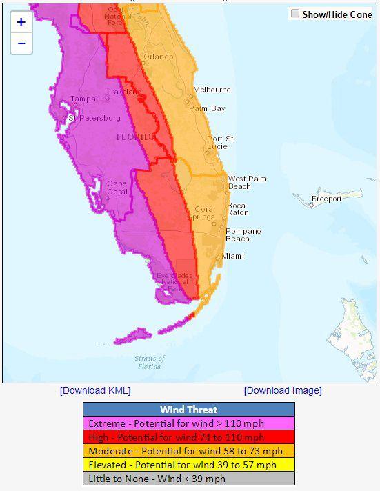 Path Of Hurricane Irma Map : hurricane, Hurricane, Track, Update, LIVE:, Latest, Miami, Orlando, Florida, Weather, Express.co.uk
