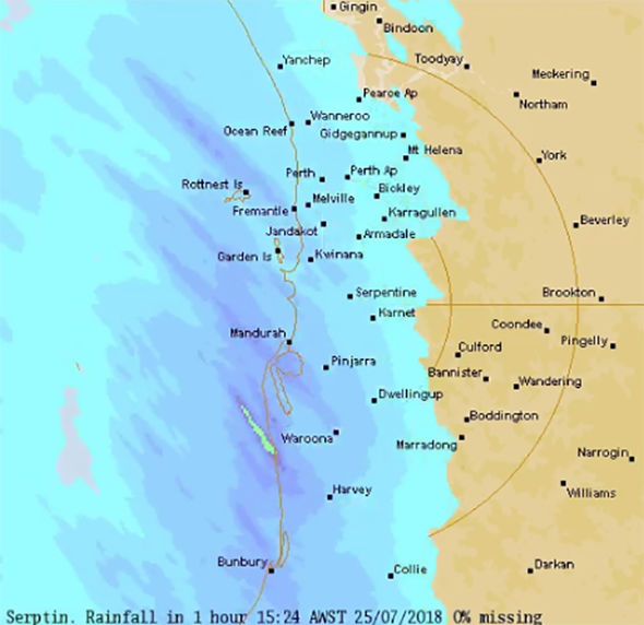 Perth Weather Forecast Huge Storm Heading For Perth To