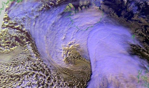 Storm Ellen Warning Intense North Atlantic Cyclone