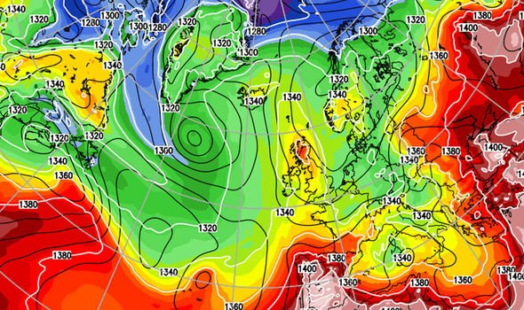 UK weather forecast huge