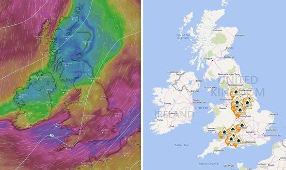 uk weekend weather forecast