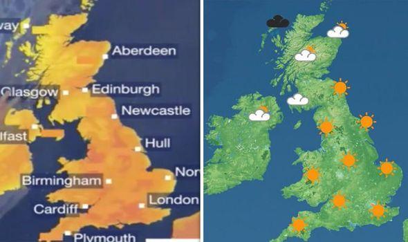 uk weather forecast britain