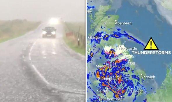 bbc weather forecast extreme