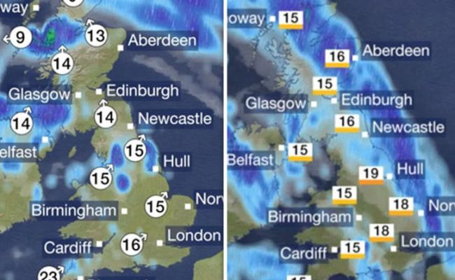 Bbc Weather Forecast One More Muggy Night Before