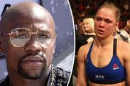 Ronda Rousey message Floyd Mayweather UFC retirement Amanda Nunes