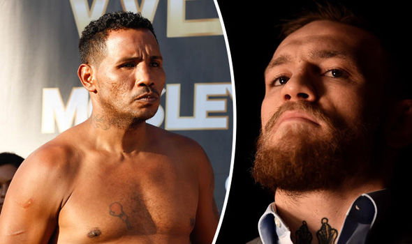 Conor McGregor boxing Ricardo Mayorga challenge former world champion