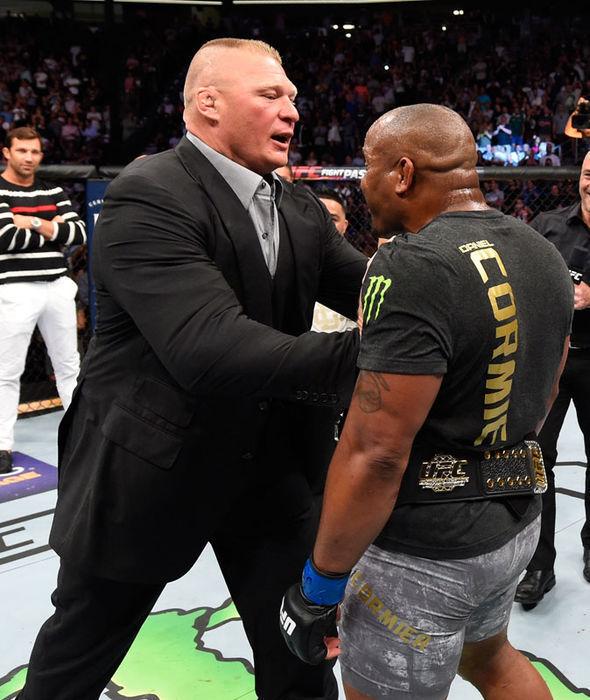 Brock Lesnar Daniel Cormier UFC