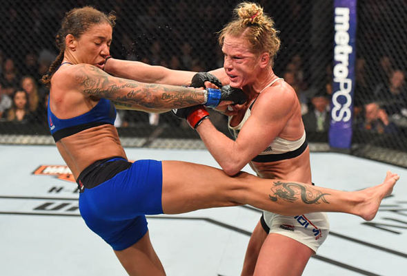 De Randamie v Holly Holm