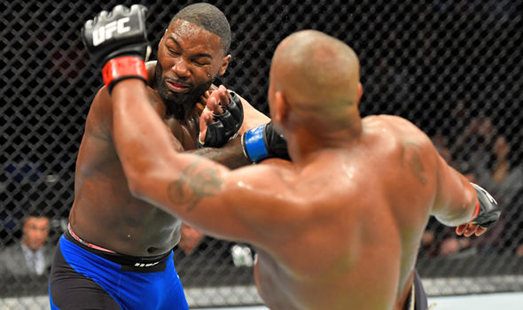 UFC 210 stars Anthony Johnson and Daniel Cormier