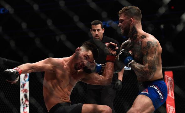 UFC star Cody Garbrandt beats Dominick Cruz