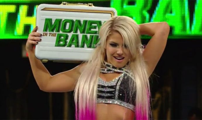 Image result for Alexa Bliss Money in the Bank