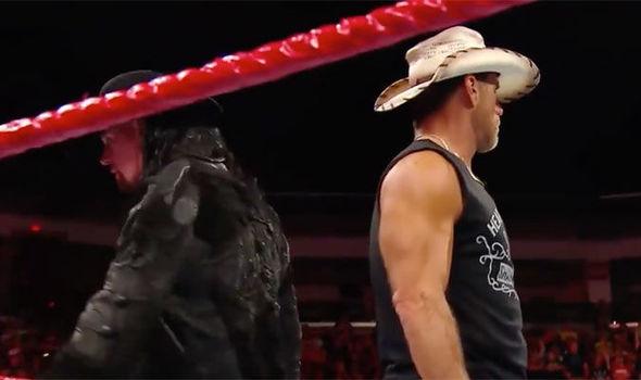 Shawn Michaels et Undertaker ont eu une confrontation passionnée sur RAW
