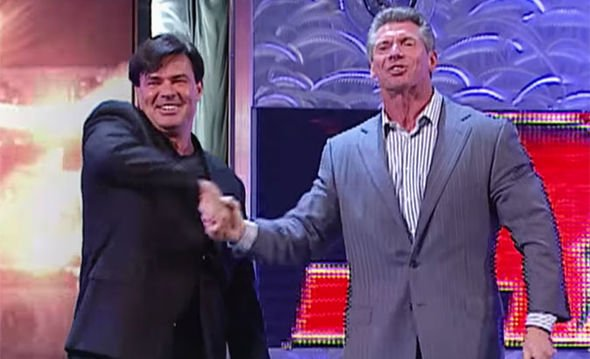 WWE news: WCW legend Eric Bischoff REVEALS his first ever chat with Vince  McMahon | WWE | Sport | Express.co.uk