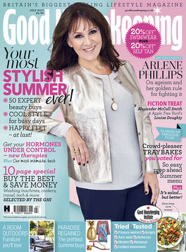 Fill interview in July issue of Good Housekeeping