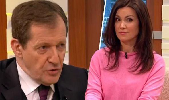 Alastair Campbell and Susanna Reid
