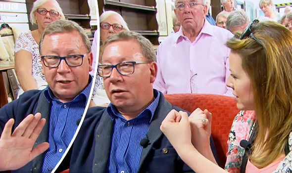 Antiques Road Trip BUST UP Mark Stacey in auction showdown - 'I'm not speaking to you'