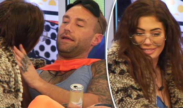 Chloe Ferry tries to kiss Calum Best again
