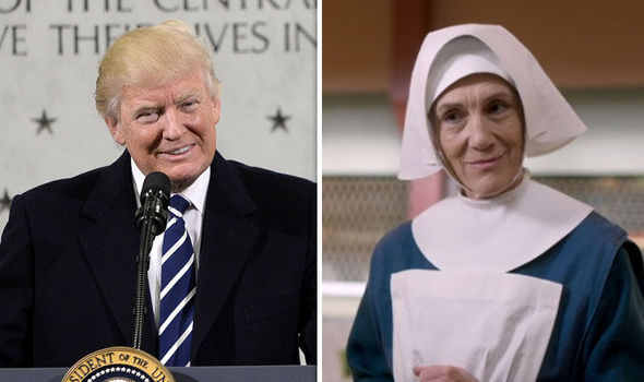Donald Trump Sister Ursula Call the Midwife