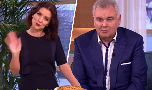Eamonn Holmes and Candice Brown on This Morning