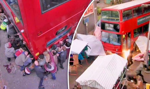 EastEnders CLEARED by Ofcom over insensitive bus crash - one month on from Berlin terror