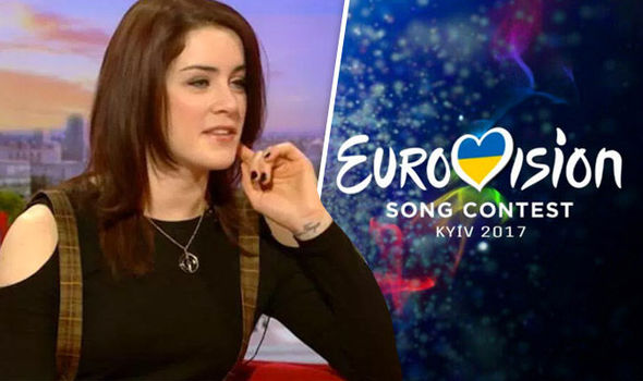 Eurovision entry Lucie Jones