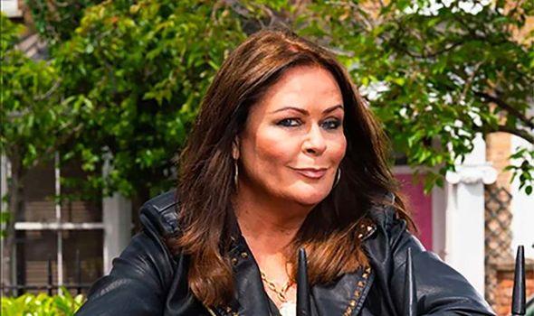 Kate Robbins stars in EastEnders