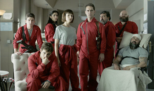 La Casa de Papel season 2 cast Who stars in Money Heist  TV  Radio  Showbiz  TV  Express
