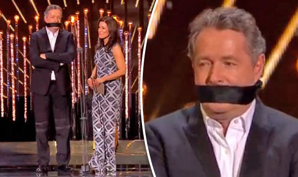 NTAs 2017 Piers Morgan 'finally gagged' by Good Morning Britain co-host Susanna Reid