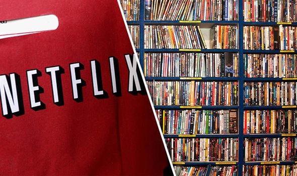 Netflix logo (left)