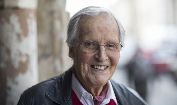 Radio Host Nicholas Parsons 94 Misses His First Just A